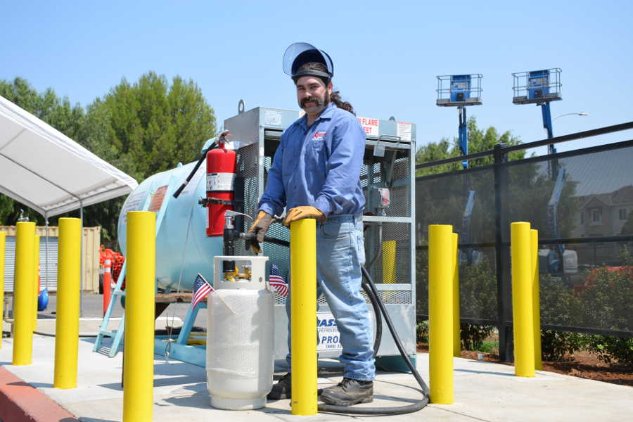 Propane Tank Refill Service A Tool Shed Equipment Rentals in Morgan Hill CA