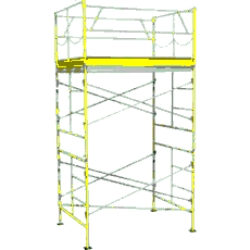 Rental store for 10  ROLLING SCAFFOLDING TOWER in Morgan Hill CA