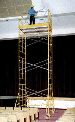 Rental store for 15  ROLLING SCAFFOLDING TOWER in Morgan Hill CA