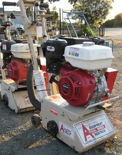 Used Equipment Sales GAS COMPACT CONCRETE PLANER in Morgan Hill CA