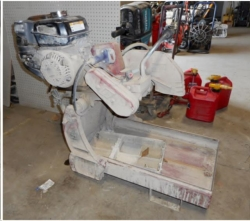 Used Equipment Sales GAS BRICK SAW in Morgan Hill CA