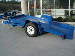 Rental store for SINGLE AXLE TILT BED EQUIPMENT TRAILER in Morgan Hill CA