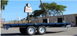 Rental store for 8  x18  DECK OVER TRAILER in Morgan Hill CA