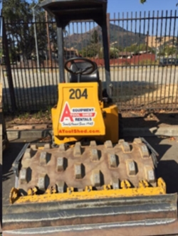 Rental store for 48  VIBRATORY SHEEPSFOOT ROLLER in Morgan Hill CA