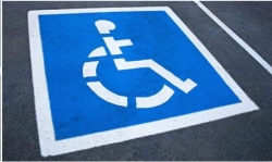 Rental store for HANDICAPPED PARKING STENCIL in Morgan Hill CA