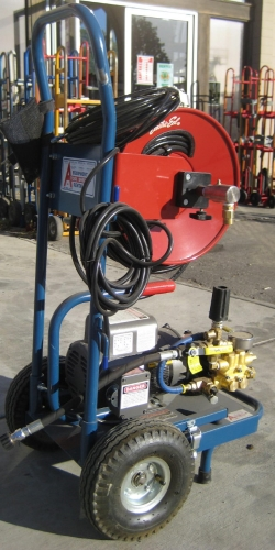 Rental store for 100FT ELECTRIC 1500 PSI SEWER JETTER in Morgan Hill CA