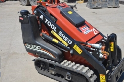Rental store for 35  GAS MINI TRACK SKID STEER LOADER in Morgan Hill CA