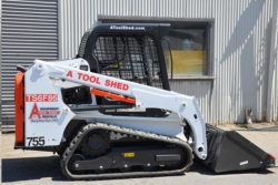 Rental store for 62  66  TRACK SKID STEER  LOADER TRACTOR in Morgan Hill CA