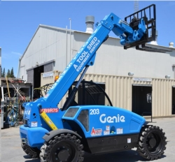 Rental store for 19  HIGH 4X4 TELEHANDLER REACH FORKLIFT in Morgan Hill CA