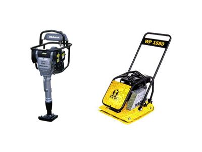 Rent Compaction Equipment - Asphalt Roller & Tools